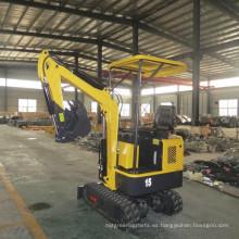 Miniexcavadora excavadora de 1.5 toneladas