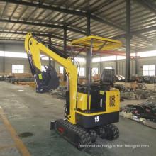 1,5 Tonnen Hydraulikbagger Minitraktor
