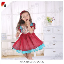 Children vintage style printed dress