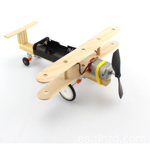 DIY Battery Wind Power Toy Plane
