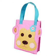 2015 arts and crafts plush animal backpack for kids