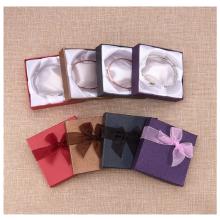 Caja de pulsera de papel vitela de alta calidad