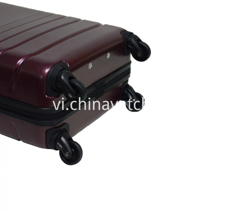 Abs Pc Alloy Spinner Luggage Set