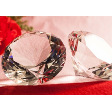 Regalos de boda K9 Diamante de cristal transparente