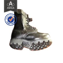 Tactical Army Boots with Genuine Leather