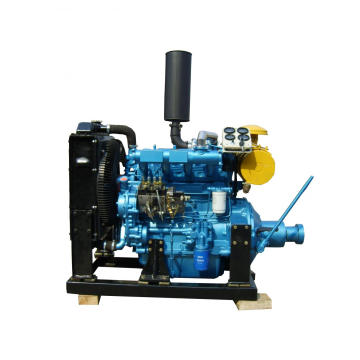 Cheap for Search 100Hp Diesel Engine, R4105Zp & K4100Zp Engine, Clutch Pto Shaft Engine. Weifang R4105ZP R4105ZG With PTO Clutch Belt Pulley Diesel Engine supply to Macedonia Factory