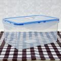 Malásia fácil fechamento plástico bpa comida grátis recipientes com tampa selada