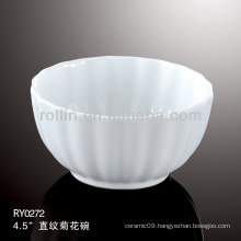 Japan style good quality chinese flower shaped porcelain bowl