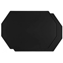 Изготовленная на заказ восьмиугольная силиконовая салфетка с приподнятыми краями
