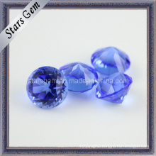 Low Price Round Cut MID Violet Charming Crystal Glass