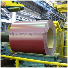 Techo corrugado de color usado Bobina de acero recubierta de aluminio no secundaria PPGL