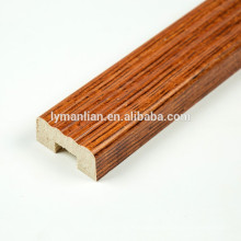 Marco de la puerta de madera de melamina papel recon moldeado de madera