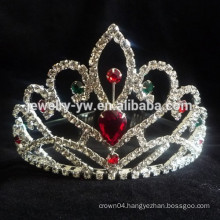 wholesale crystal hair accessories crown headband manufacturer