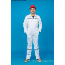 65% poliéster 35% algodón ropa de trabajo de seguridad con reflexivo (BLY1021)