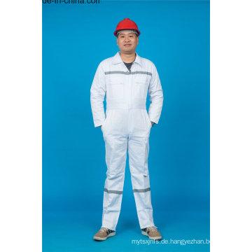 65% Polyester 35% Baumwolle Sicherheit Arbeitskleidung mit reflektierenden (BLY1021)