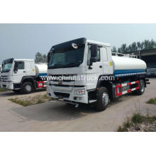 HOWO 4x2 steel water tank truck 12000 liters