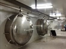 Venda de secadores de congelar alimentos / Liofilizador congelamento secador