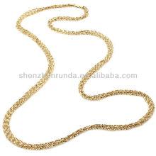 """Venda Por Atacado jóias de ouro barato 36 """"colar de cadeia longa fabricante"""