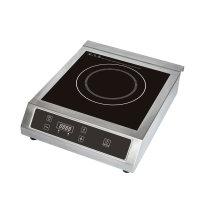 Table de cuisson à induction commerciale homologuée 3500W ETL / cETL, modèle SM-C02D