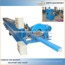 gutter rolling products water-drop pipe cold forming machine
