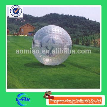 Boule de corps de ballon humain gigantesque de pelouse de TPU grass zorb