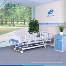 AG-BY104 mit zentral gesteuerten Bremssystem Krankenstation Möbel Multifunktions-Krankenhausbett
