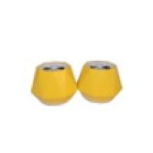 O Altifalante com Amarelo Shell USB 120cm Linha Branca