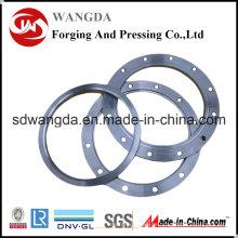 Accesorios de HDPE de la placa de hierro de brida de HDPE