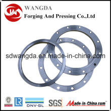 Garnitures de HDPE de plat de fer de bride de HDPE