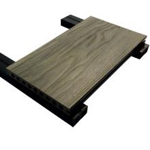 Tableaux composites en bois en bois de Decking, plancher en bois de Decking de stratifié pour l'usage extérieur