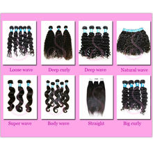 Double Drawn Double Weft Raw Virgin Dropship remy indian virgin and brazilian virgin hair