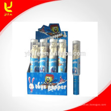 Toy Party Poppers en Grenade Transparence Tube con red de seguridad