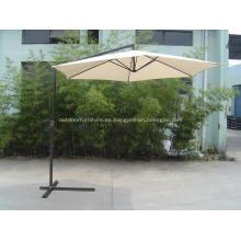 3M acero Banana forma paraguas plegable