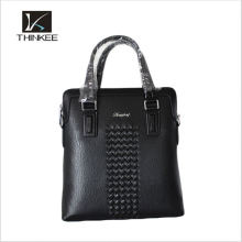 new arrival mens leather travel bag handbag leather business tote bag