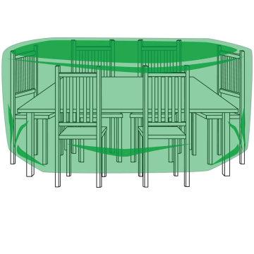 Couvertures de protection pour meubles de patio pour jardins lourds