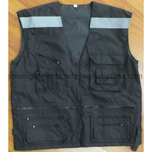 Padded Padding Winter Hi-Viz Safety Reflective Protective Body Warmer Vest (BW17)