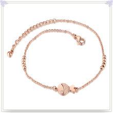 Pulseras de acero inoxidable de la cadena del pie de la manera de la joyería (CH015)