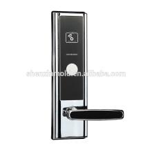 Nouveaux serrures de porte électroniques d'hôtel de carte de rf d'alliage de zinc