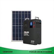 Système portatif d'énergie solaire portatif de la qualité 250W 220V de la haute qualité 5Kw