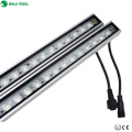 High power outdoor 24w aluminum housing 24v ip65 linear rgb led wall washer china