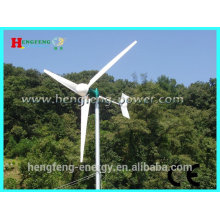 Sistema de alto rendimiento turbina de viento 2KW 3KW 5KW / hogar viento potencia generador para uso doméstico