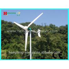 Sistema de alto desempenho aerogerador 2KW 3KW 5KW / vento doméstico poder gerador para uso doméstico