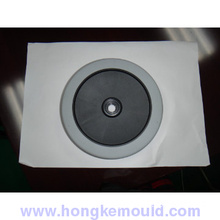Over molding injection plastic wheel mould