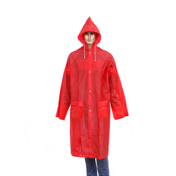 imperméable réutilisable en pvc long