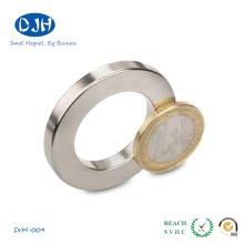 El imán del anillo del boro del hierro del neodimio puede ser modificado para requisitos particulares