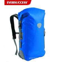 Sac à dos imperméable de bâche: PVC 500D, 35L avec des coutures soudées, équilibre réfléchissant, appui arrière rembourré