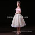 Chegada nova elegante rosa senhoras Guangzhou vestido de noite atacado