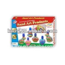 Песок искусства подвески(бутылка в форме животного)