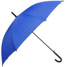 Paraguas recto azul abierto auto (BD-60)