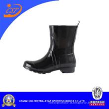 Meninas tornozelo botas de chuva de borracha